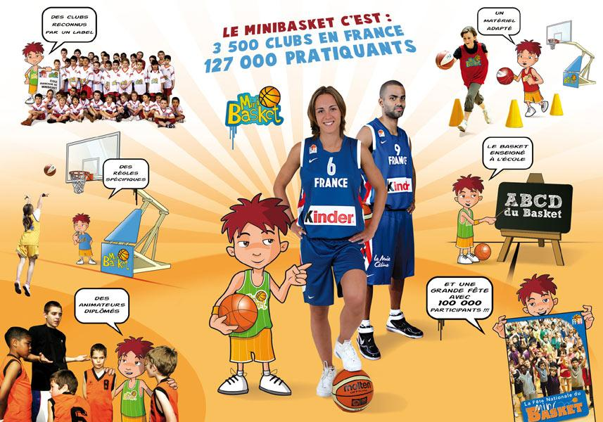 affiche mini basket